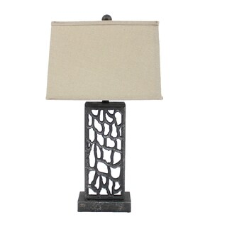 Teton Home 2 Tl-011 Open-cut Metal Table Lamp