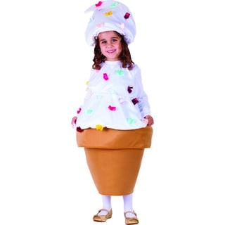 Girl's Ice Cream Cone Costume