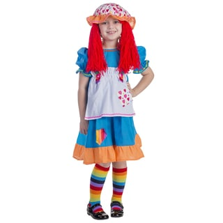 Rainbow Rag Doll Costume