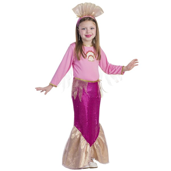 Girl's Little Mermaid Costume