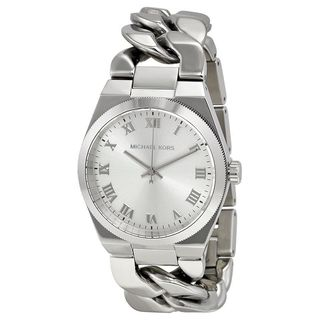 Michael Kors Women's Channing MK3392 Silver Stainless-Steel Quartz Watch