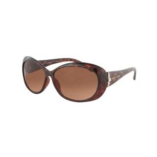 Vernier Women's Tortoise 'Sunreaders' Reading 2.5x Sunglasses