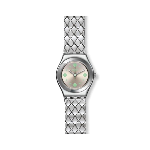 Swatch Women's Irony YSS291G Silver Stainless-Steel Swiss Quartz Watch