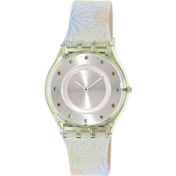 Swatch Women's Skin SFG105 Multi Leather Swiss Quartz Watch