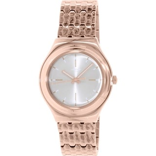 Swatch Women's Irony YGG103G Rose Gold Stainless-Steel Swiss Quartz Watch