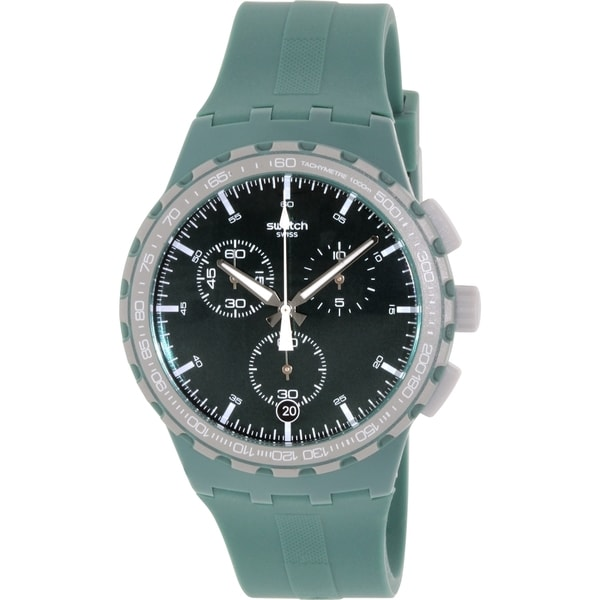 Swatch Men's Originals SUSG403 Green Silicone Swiss Quartz Watch