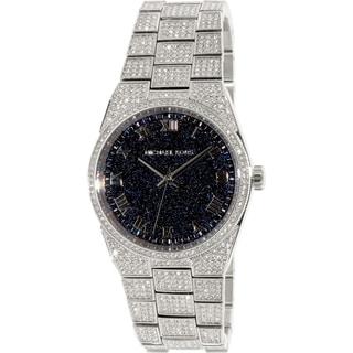 Michael Kors Women's Channing MK6089 Silver Stainless-Steel Quartz Watch