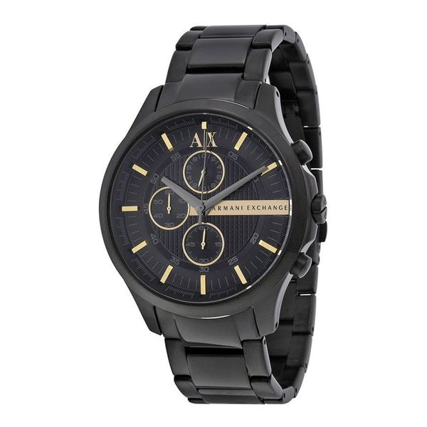 Armani Exchange Men's AX2164 Black Stainless Steel Quartz Watch