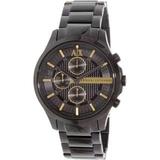 Armani Exchange Men's AX2164 Black Stainless Steel Quartz Watch