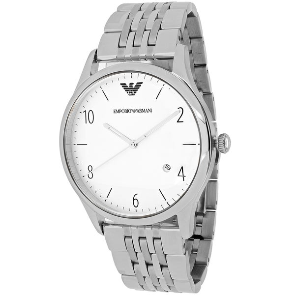 Emporio Armani Men's Classic AR1867 Stainless Steel Quartz Watch