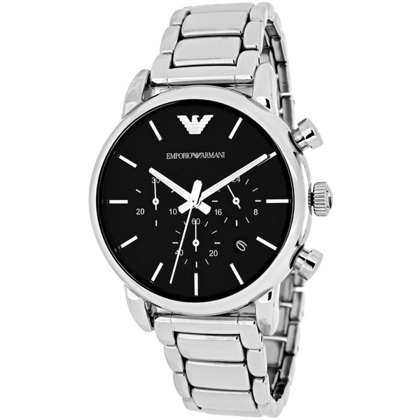 Emporio Armani Men's Classic AR1853 Stainless Steel Quartz Watch