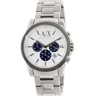 Armani Exchange Men's AX2500 Stainless Steel Quartz Watch