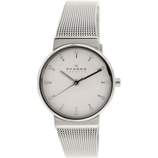 Skagen Women's Ancher SKW2195 Metallic Stainless Steel Quartz Watch