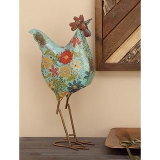 Metal Decorative Rooster