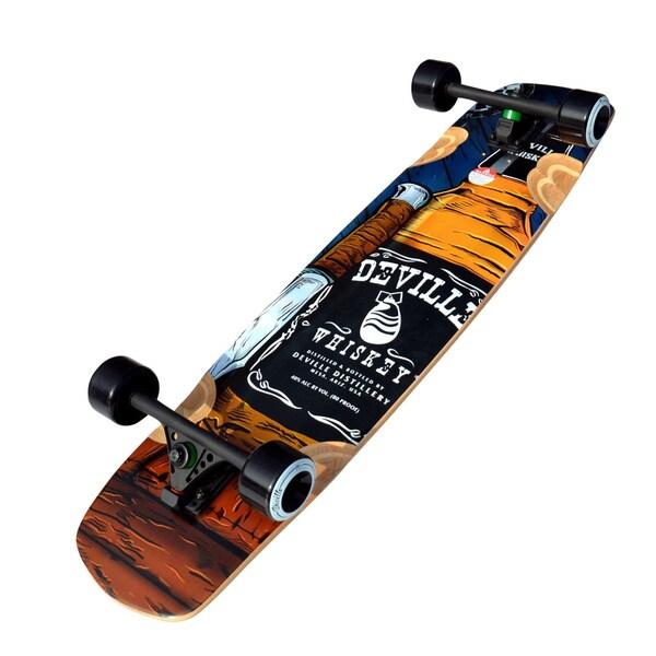 Deville Hooch 37-inch Freeride/ Downhill Longboard