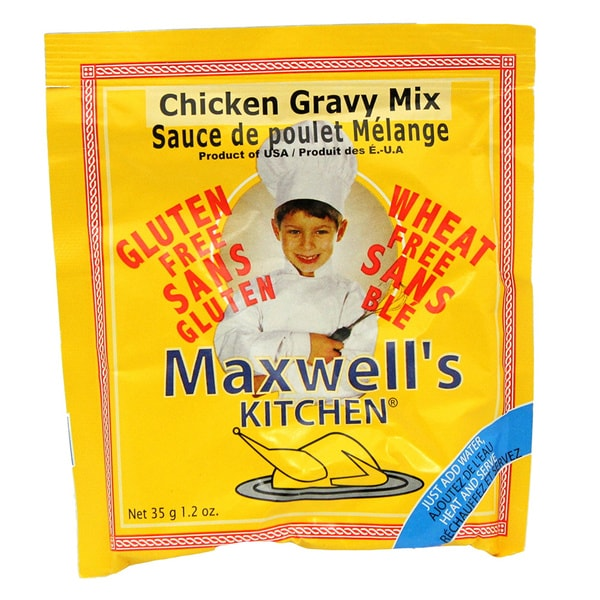 Maxwells Kitchen Gluten Free Chicken Gravy Mix, 1.2 oz. [4 Pack]