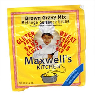 Maxwells Kitchen Gluten Free Brown Gravy Mix, 1.2 oz. [4 Pack]