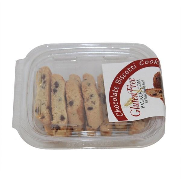 Glutenfreepalace.com GF Mini Pack Chocolate Chip Biscotti, 2 oz. [3 Pack]