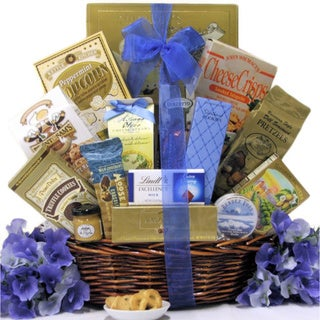 Best Wishes: Sweet & Salty Gourmet Gift Basket