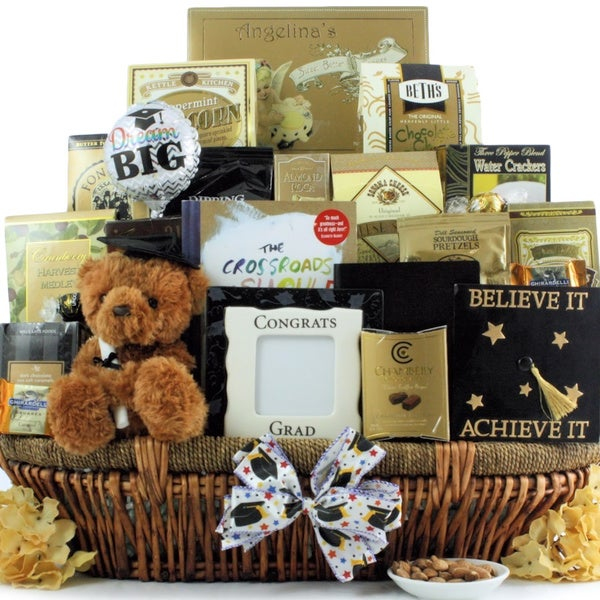 BELIEVE IT!: GRADUATION GIFT BASKET