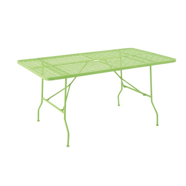 Chic Metal Folding Outdoor Table