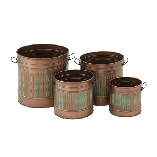 Alluring set of 4 Metal Planter