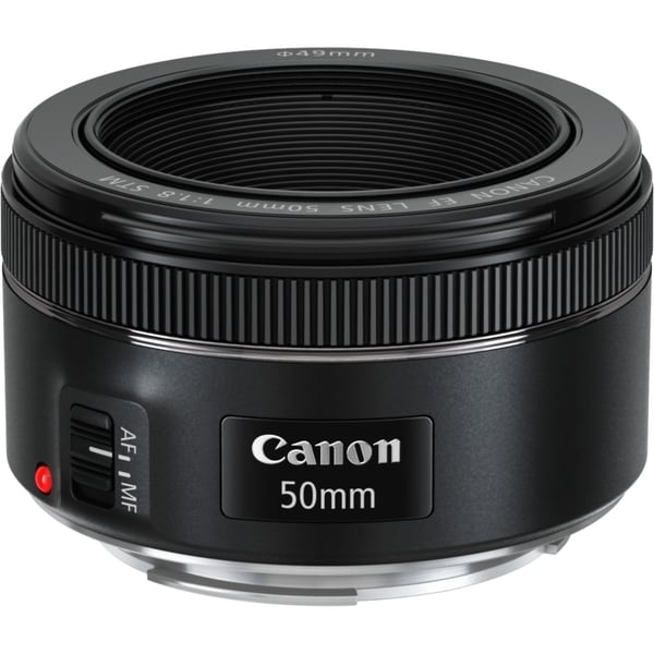 Canon 50 mm f/1.8 Fixed Focal Length Lens for Canon EF