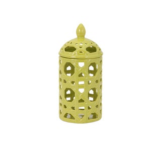 Lattice Small Ceramic Canister
