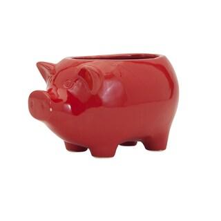 Sooie Pig Ceramic Planter