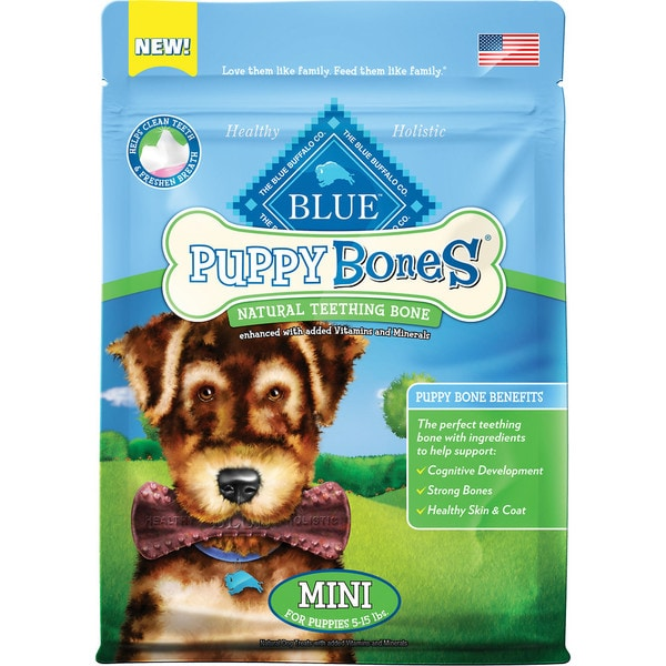 Blue Buffalo Puppy Natural Teething Bones