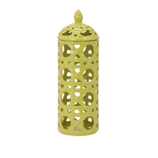 Lattice Large Ceramic Canister