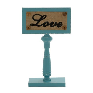Enticing Metal Love Sign