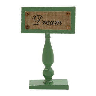 Smartly Styled Metal Dream Sign