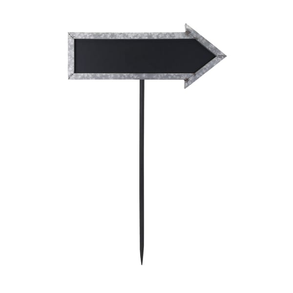 Mavis Galvanized Arrow Sign