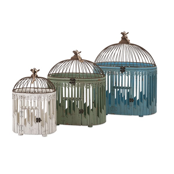Elaine Bird Houses (Set of 3)