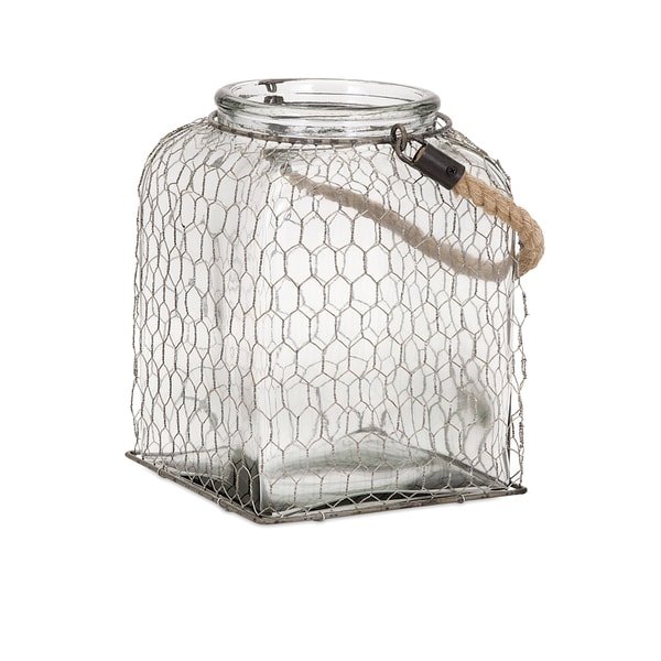 Foley Wire Cage Jar - Large