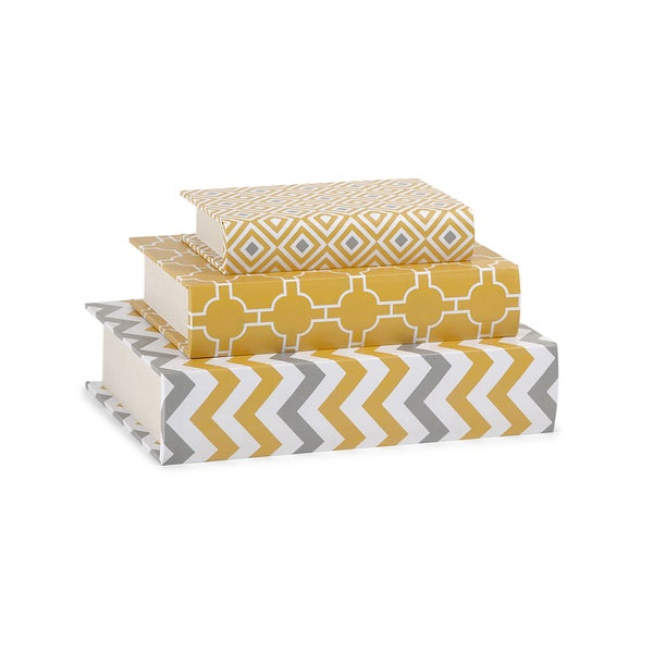Essentials Book Boxes - Yellow
