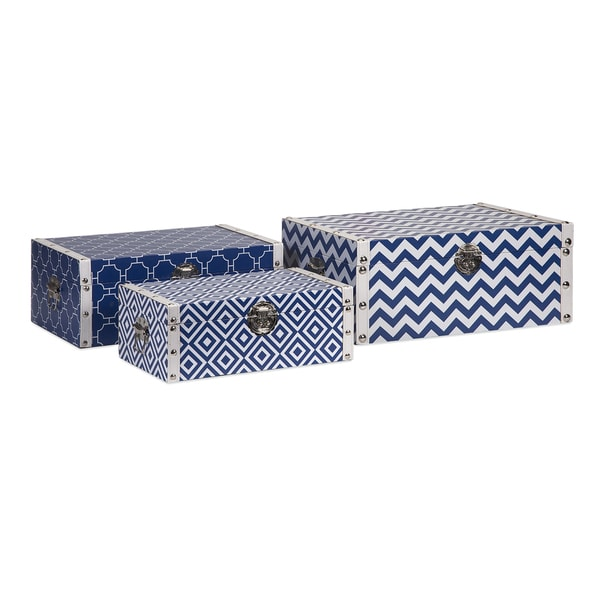 Essentials Storage Boxes - Navy