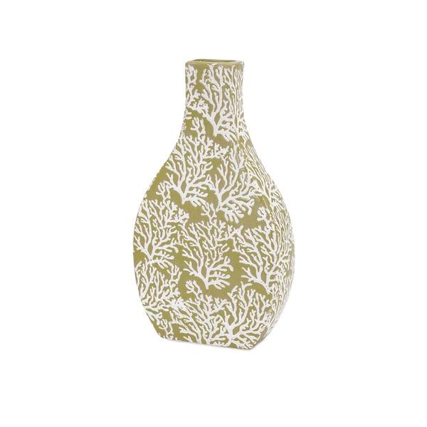 Coral Small Ceramic Vase
