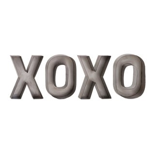 XOXO Metal Wall Decor