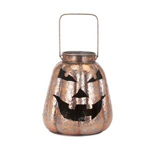 Rocco Copper Jack O Lantern