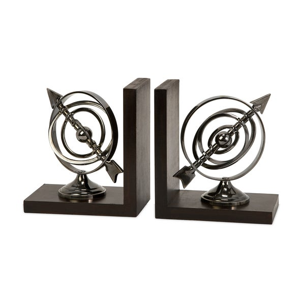 Calisto Armillary Bookends