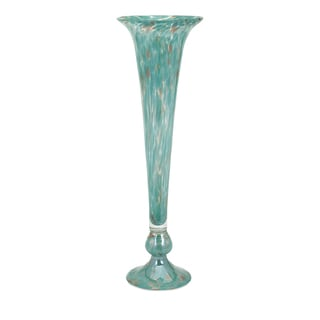 Marion Tall Glass Fluted Vase