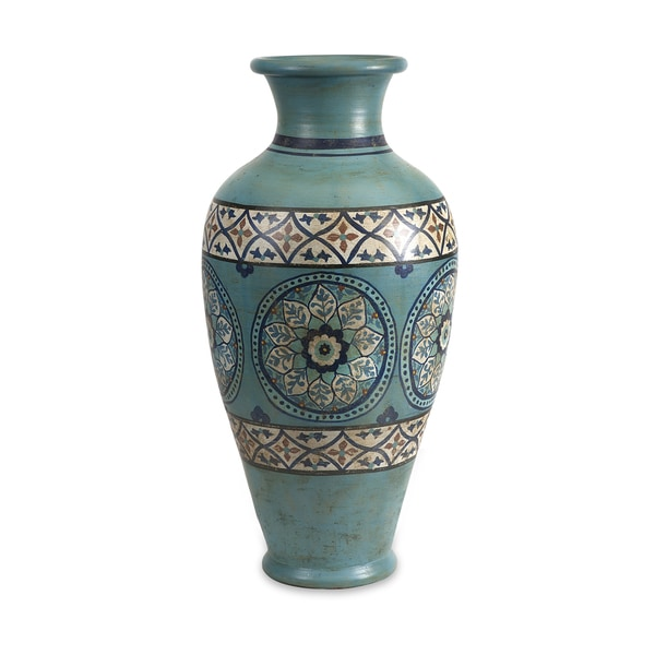 Kibar Hand Painted Oversized Vase