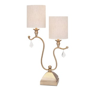 Benicia Double Shade Table Lamp