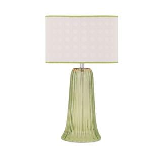 Palm Beach Glass Lamp