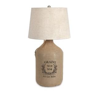 Radburn Jute Wrapped Wine Jug Lamp