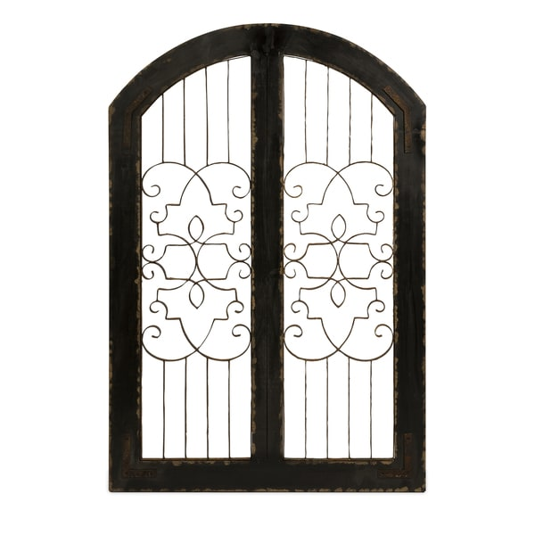 Amelia Iron and Wood Gate