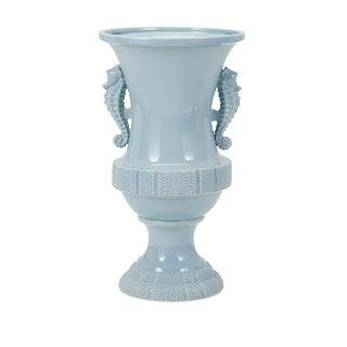 Seahorse Oversized Ceramic Urn