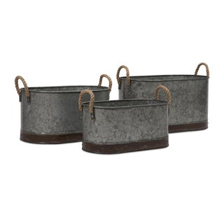 Camay Oval Tubs (Set of 3)